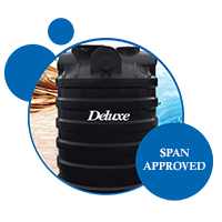 SPAN approved septic tank