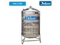 1000 Liter Deluxe Stainless Steel Round Bottom With Stand Water Tank 圆底有脚