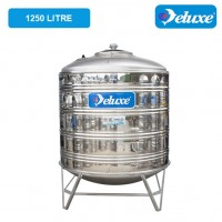 1250 Liter Deluxe Stainless Steel Round Bottom With Stand Water Tank 圆底有脚