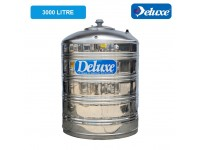 3000 Liter CL 60 FL Deluxe Stainless Steel Round Bottom Without Stand Water Tank 平底无脚