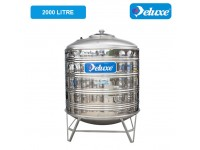 2000 Liter CL50K Deluxe Stainless Steel Round Bottom With Stand Water Tank 圆底有脚