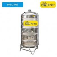 500 Liter Treinz Stainless Steel Water Tank With Stand / Round Bottom 圆底有脚