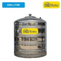 2000 Liter Treinz Stainless Steel Flat Bottom Without Stand Water Tank 平底无脚
