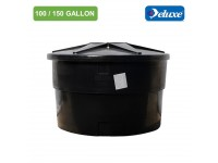 100/150 Gallon Deluxe Polyethylene Round type Water Tank