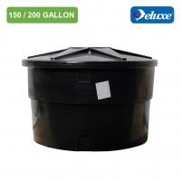 150/200 Gallon Deluxe Polyethylene Round type Water Tank