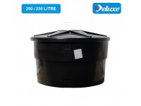 200/250 Gallon Deluxe Polyethylene Round type Water Tank