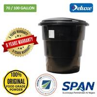 70/100 Gallon Deluxe Polyethylene Round (Slim & Tall) type Water Tank