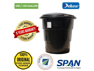 100/150 Gallon Deluxe Polyethylene Round (Slim & Tall) type Water Tank