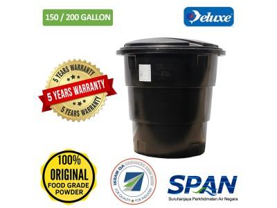 150/200 Gallon Deluxe Polyethylene Round (Slim & Tall) type Water Tank