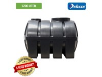 1200 Liter 4 PE Non Approved Deluxe PE Septic Water Tank Horizontal Type