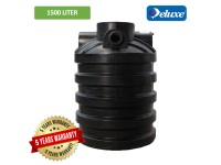 1500 Liter Non SPAN Approved Deluxe PE Septic Water Tank Vertical Type