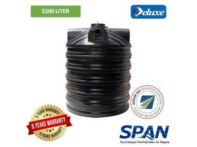 5500 Liter 18 PE SPAN Approved Deluxe PE Septic Water Tank Vertical Type