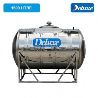 1600 Liter Deluxe Stainless Steel Water Tank Horizontal with Stand 有脚卧室