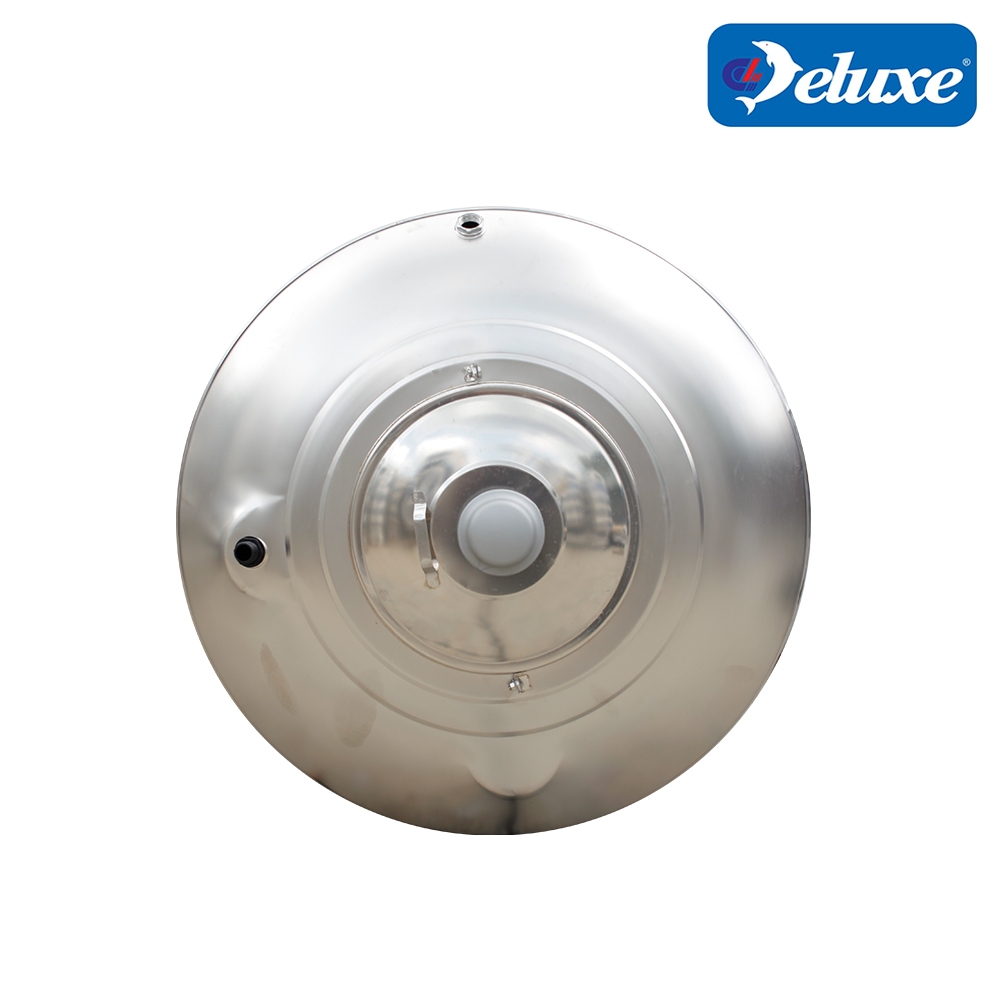Deluxe Stainless Steel Round Bottom With Stand Water Tank